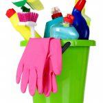 Kleedkamers schoonmaken